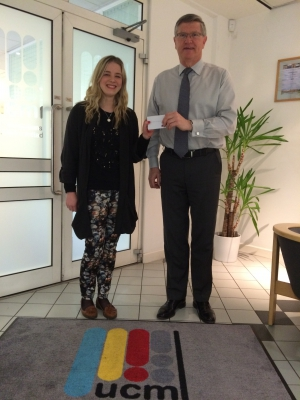 March UCML Prize Draw Winner