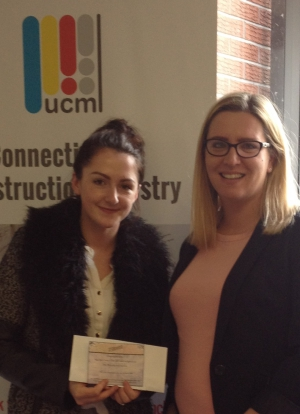 UCML Prize Draw Winner for April