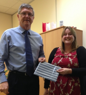 Winner of UCML's First Prize Draw